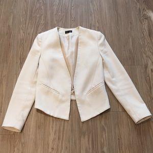 Topshop blush blazer size US 4 professional